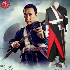 MANLUYUNXIAO Men's Costume Rogue One: A Star Wars Story Chirrut Imwe Costume Halloween Cosplay Costumes Full Set Custom Made