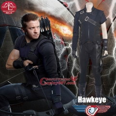 MANLUYUNXIAO Men's Captain America Civil War Hawkeye Costume Halloween Cosplay Costume For Men Deluxe Outfit