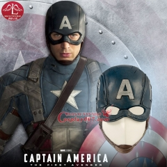MANLUYUNXIAO Captain America Masks Movie Cosplay Costume Props Halloween Superhero Latex Mask DC Collectible Toys