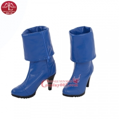 MANLUYUNXIAO New Arrival Young Justice Miss Martian Cosplay Boots Halloween Cosplay Boots