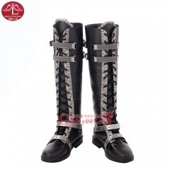 MANLUYUNXIAO New Arrival  Kingsglaive Final Fantasy XV costume Nyx Cosplay Boots Halloween Cosplay Boots High Quality