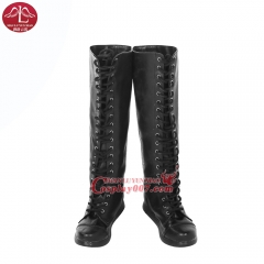 MANLUYUNXIAO New Arrival Women Resident Evil: The Final Chapter Alice Boots Halloween Carnival Cosplay Boots