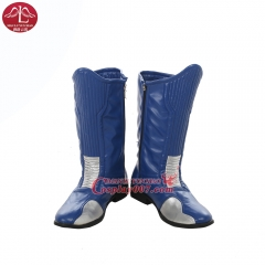 MANLUYUNXIAO New Fashion The Flash Boots Halloween Carnival Cosplay Costume For Men Custom Made