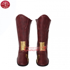 MANLUYUNXIAO New Fashion The Flash Boots Halloween Carnival Cosplay Costume Custom Made