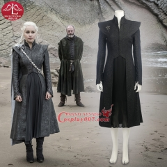 MANLUYUNXIAO 2017 New Movie Game of Thrones Season 7 Clothing Character Daenerys Targaryen Mother of Dragons Cosplay Costumes Outfit