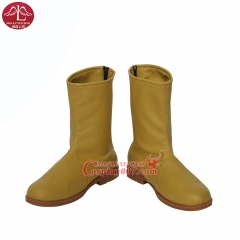 MANLUYUNXIAO New Arrival Men's Young Justice Kid Flash Cosplay Boots Halloween Carnival Cosplay Boots