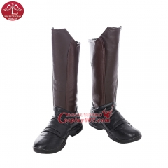 MANLUYUNXIAO Guardians of The Galaxy Star Lord Cosplay Boots For men Any Size Custom Made