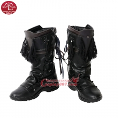 MANLUYUNXIAO Movie Doctor Strange Baron Karl Mordo Cosplay Boots For Men Any Size Custom Made