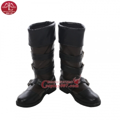 MANLUYUNXIAO NieR Automata YoRHa No.9 Type S Cosplay Boots For Men Any Size Custom Made