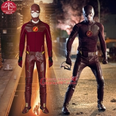 MANLUYUNXIAO Hot Superhero The Flash Costume Halloween Carnival Cosplay Costume For Men Wholesale Factory price Custom Made