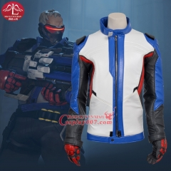 MANLUYUNXIAO New Arrival Soldier 76 Cosplay Costume Game Cos for Men's Jacket Coat Adult Halloween Cosplay Costume