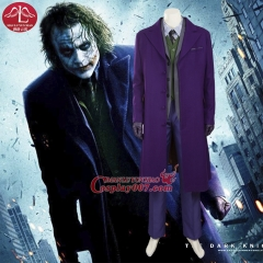 MANLUYUNXIAO New Men's Costume Joker Costume Deluxe Outfit Halloween Cosplay Costumes for Men Custom Made Any Size Wholesale