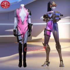 MANLUYUNXIAO High Quality Game OW Widowmaker Cosplay Costume Sexy Widowmaker Costume Catsuit Custom Made Cosplay Costume