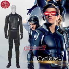 MANLUYUNXIAO X Men Apocalypse Cyclops Cosplay Costume Scott Summers Outfit full sets For Men Custom Made