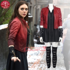 ManLuYunXiao The Avengers Age of Ultron Scarlet Witch Cosplay Costume Halloween Carnival For Women