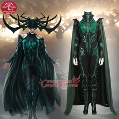 ManLuYunXiao Movie Thor III Thor Ragnarok Hela Cosplay Costume Sexy Women Halloween Custom Made