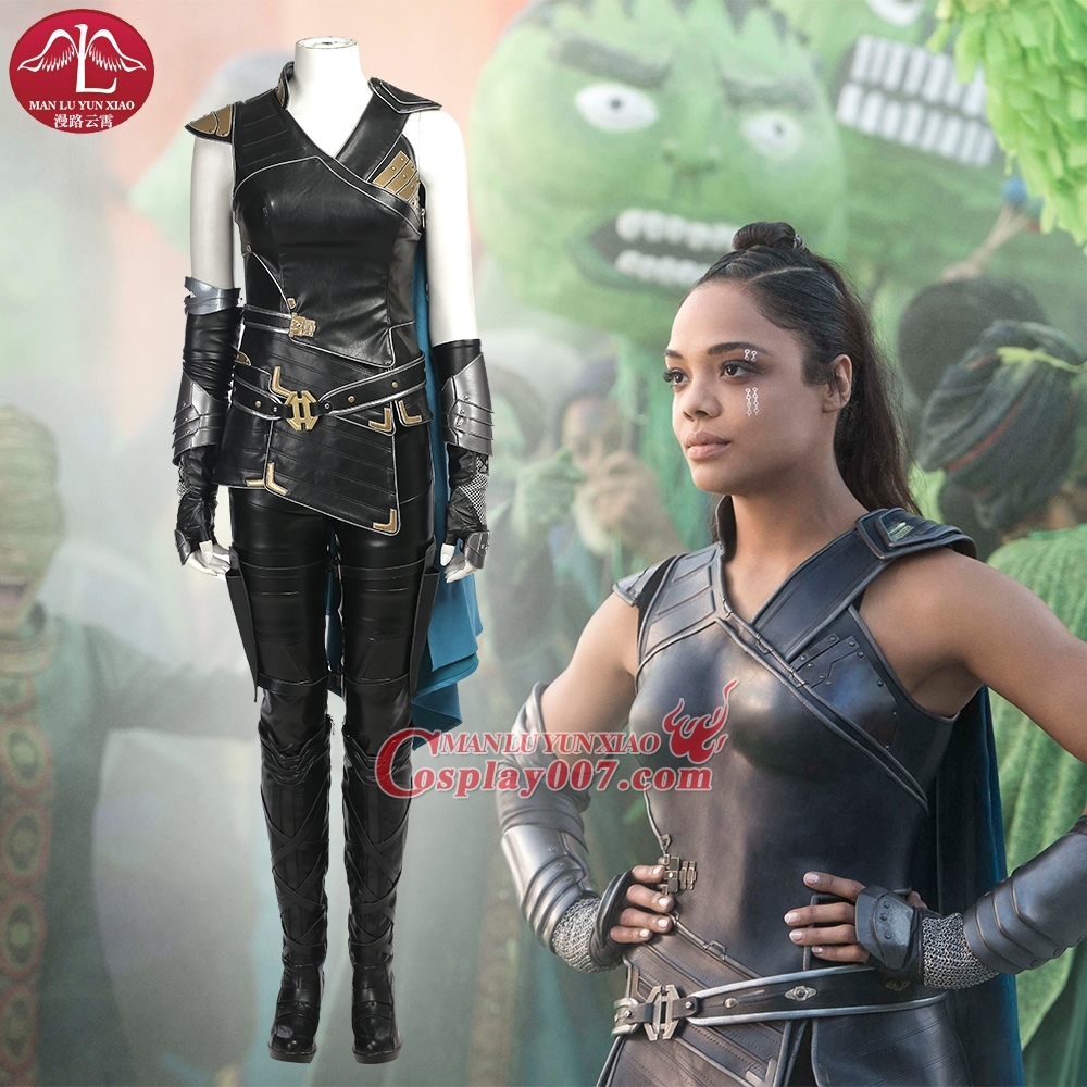 ManLuYunXiao Movie Thor Ragnarok Valkyrie Cosplay Costume Halloween Costumes Full Set Outfit Custom Made  sc 1 st  Cosplay007 & Movie Thor Ragnarok Valkyrie Cosplay Costume Halloween Costumes Full ...