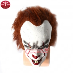ManLuYunXiao Stephen King's It Pennywise Cosplay Mask Movie Cosplay Costume Latex Mask Collectible Toys