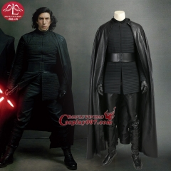ManLuYunXiao Star Wars Episode 8: The Last Jedi Kylo Ren Cosplay Costume customize Halloween Party full set