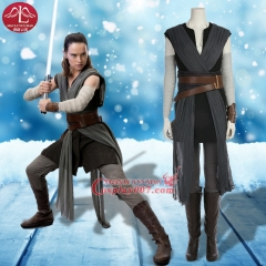 ManLuYunXiao Star Wars Episode VIII - The Last Jedi Deluxe Woam's Rey Costume