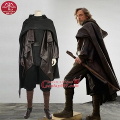 ManLuYunXiao Star Wars: The Last Jedi Luke Skywalker cosplay costume full set with shoes