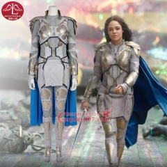 ManLuYunXiao Movie Thor Ragnarok Valkyrie white Cosplay Costume Halloween Costumes Full Set Outfit Custom Made