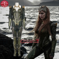 MANLUYUNXIAO Justice League Costume  Mera cosplay Full Set Custom made