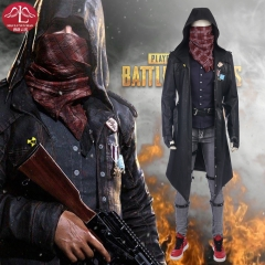 MANLUYUNXIAO PUBG  Playerunknown's Battlegrounds Mask Full Set Cosplay Costume Outfit Men