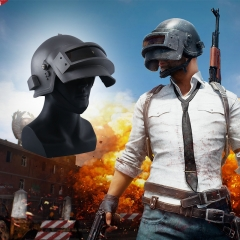 MANLUYUNXIAO Playerunknown's Battlegrounds PUBG Level 3 Helmet Game Cosplay Prop Cap Mask