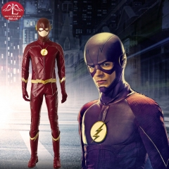MANLUYUNXIAO DC Comics The Flash season 4 deluxe cosplay costume Halloween custom made