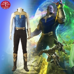 MANLUYUNXIAO Avengers Infinity War Thanos Marvel comic high quality cosplay costume outfits whole set custom made