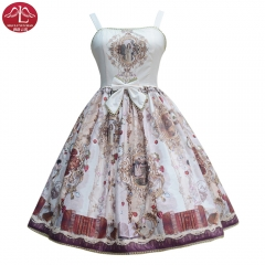 MANLUYUNXIAO Daydream Series Classical lace Lolita dress adult printing costumes outfits