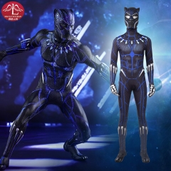 Black Panther Blue cosplay costume adult Halloween costumes cosplay outfits Manluyunxiao