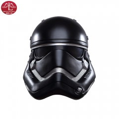 Star Wars The force awakens Stromtrooper black half helmet for men Manluyunxiao
