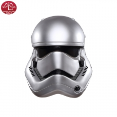 Star Wars The force awakens stormtrooper white half helmet Halloween mask Manluyunxiao