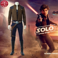 Star Wars Adult Han Solo high quality cosplay costume outfits Halloween costumes for men Manluyunxiao
