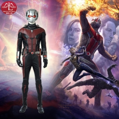 Ant man 2 Scott Lang high quality cosplay costume Marvel comic superhero costume for adult man Halloween costume Manluyunxiao