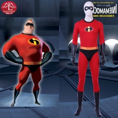 The Incredibles 2 Bob cosplay costume Mr. Incredible Disney costume for adult men Manluyunxiao
