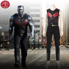 2018  Marvel Deadpool 2 Colossus Peter Rasputin cosplay costume for Halloween adult men costume Manluyunxiao
