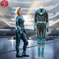 Captain Marvel Carol Danvers replica cosplay costume for adult women customize Halloween costume Manluyunxiao
