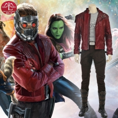 MANLUYUNXIAO Guardians of The Galaxy Peter Quill Star Lord Cosplay Costume For Men