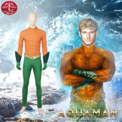 DC comics Aquaman 2 Arthur Curry cosplay costume for men Halloween costume Manluyunxiao