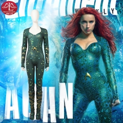 DC comics Aquaman 2 Mera cosplay costume for adult women Halloween costume customize Manyluyunxiao
