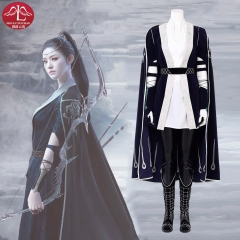 2018 LORD Legend of Ravaging Dynasties 2 Tianshu You Hua cosplay costume Chinese 3D movie Manluyunxiao