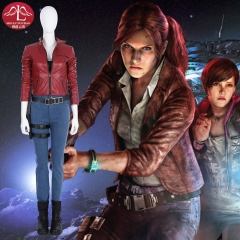 Resident Evil 2 Remake Claire Redfield cosplay costume customize in high quality game costume Manluyunxiao