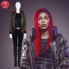 Cyberpunk 2077 woman cosplay costume role playing video game costume customize Manluyunxiao