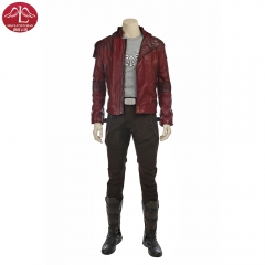 Guardians of The Galaxy Peter Quill Star Lord leather Jacket customize Manluyunxiao