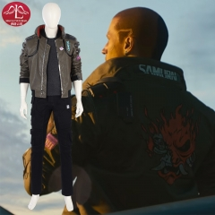 Cyberpunk 2077 man cosplay costume role playing video costume customize Manluyunxiao