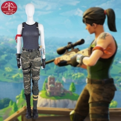 Fortnite female commando cosplay costume customize women special forces costume Manluyunxiao