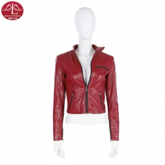 Resident Evil 2 Remake Claire Redfield leather jacket customize Manluyunxiao